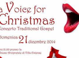 "Concerto Gospel ""A Voice for Christmas"""