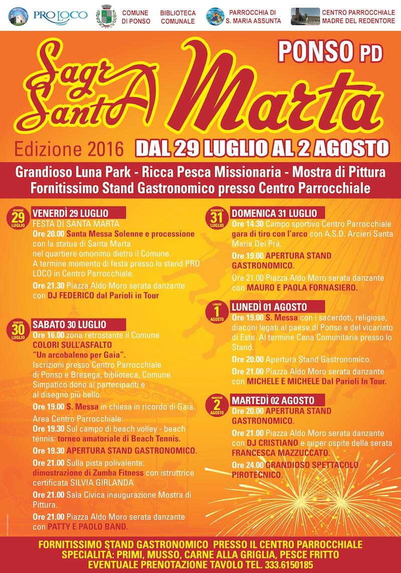 Sagra Santa Marta Ponso
